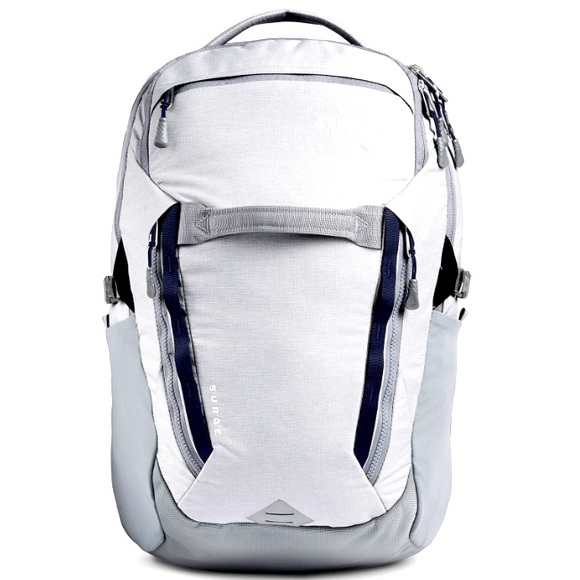 North Face Surge 3L backpack Gray. New with tags